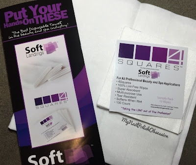 Soft Landings Table Towels & 4 Square Wipes