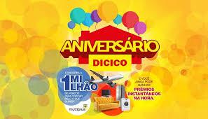 Promoção Aniversário Dicico