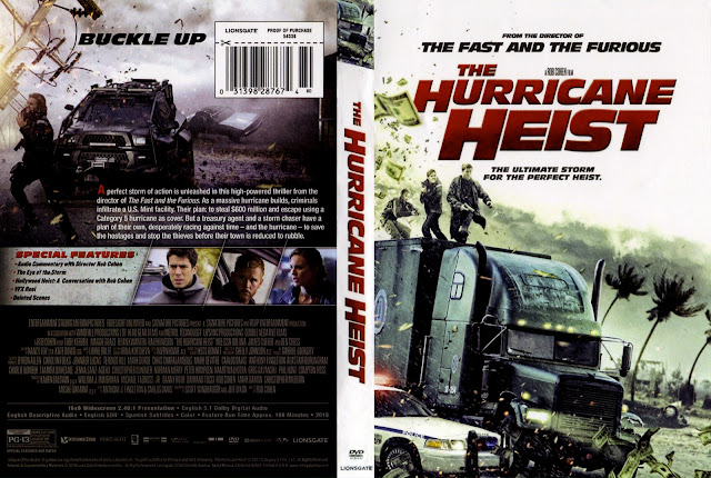 The Hurricane Heist (scan) DVD Cover