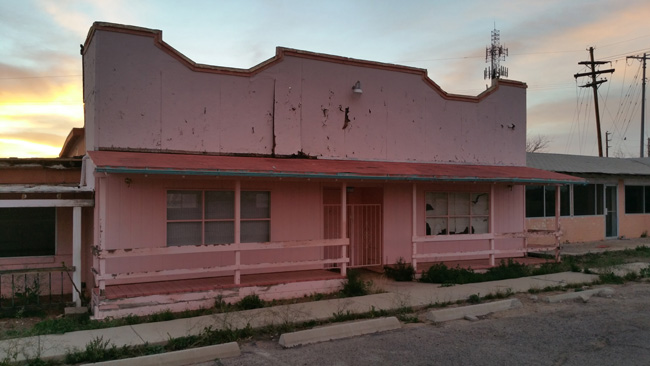 Abandoned Restaurant near Tucson AZ