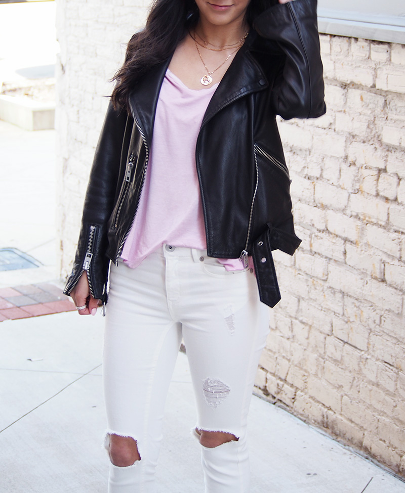allsaints leather jacket 1 year review