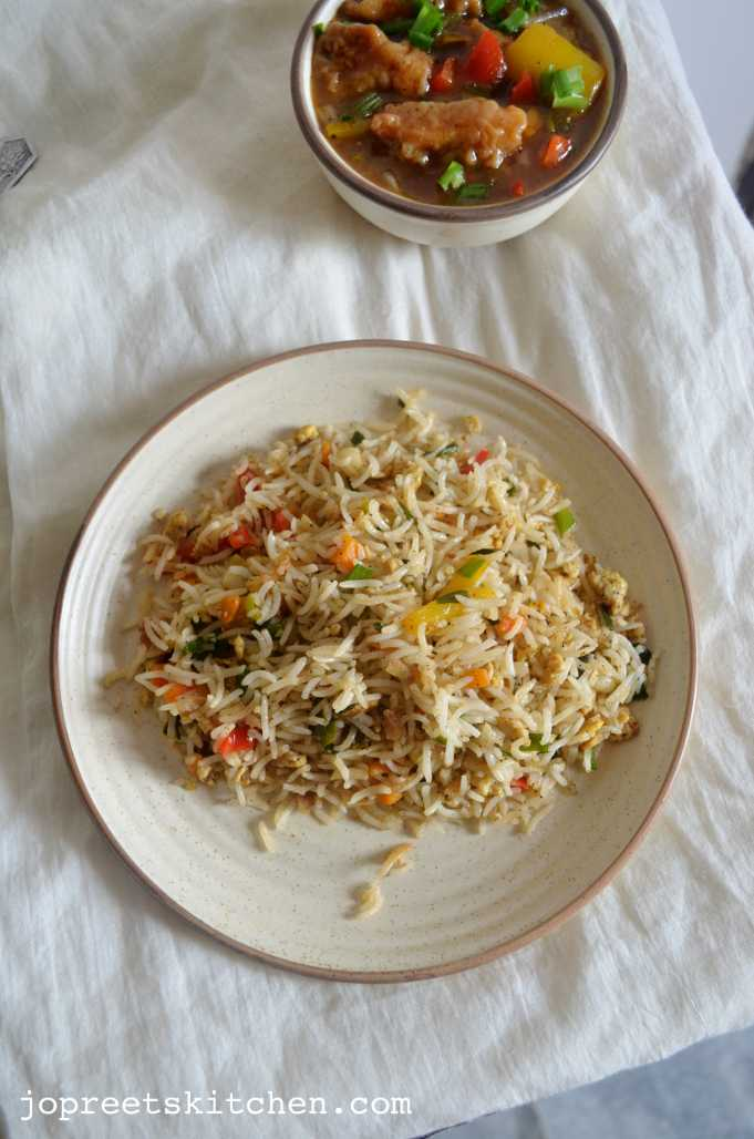 fried rice with egg