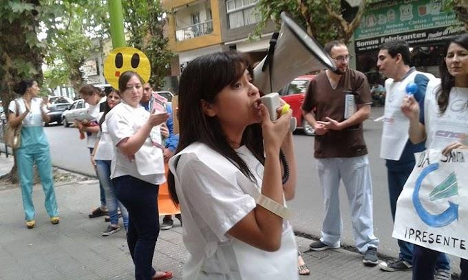 El GOA- CTA se manifestó en Tucumán