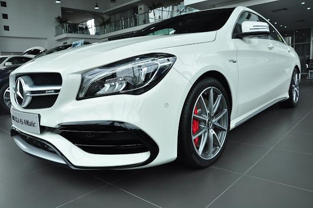 Mercedes AMG CLA 45 4MATIC thiết kế mới mạnh mẽ