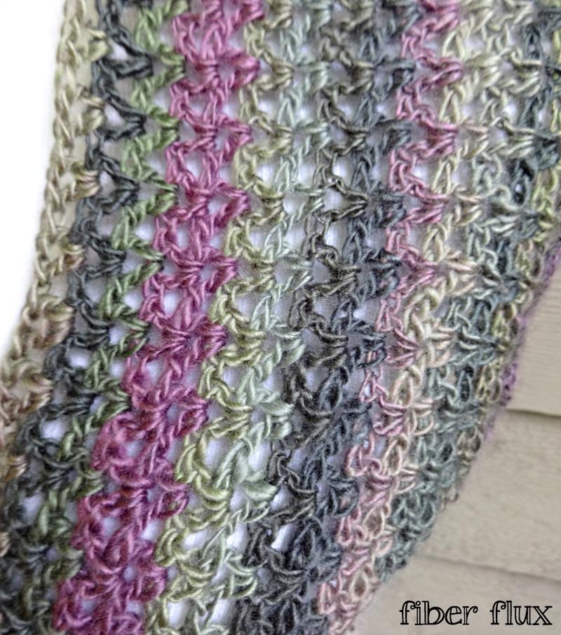 Fiber Flux Free Crochet Patternilomena Shawlette