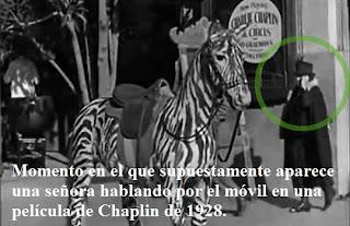El falso móvil de Chaplin