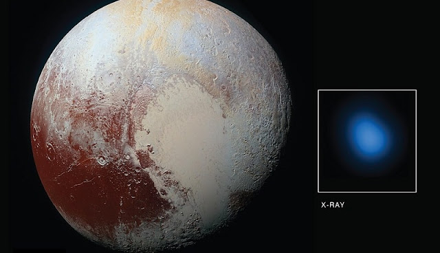 foto planet pluto dari citra satelit