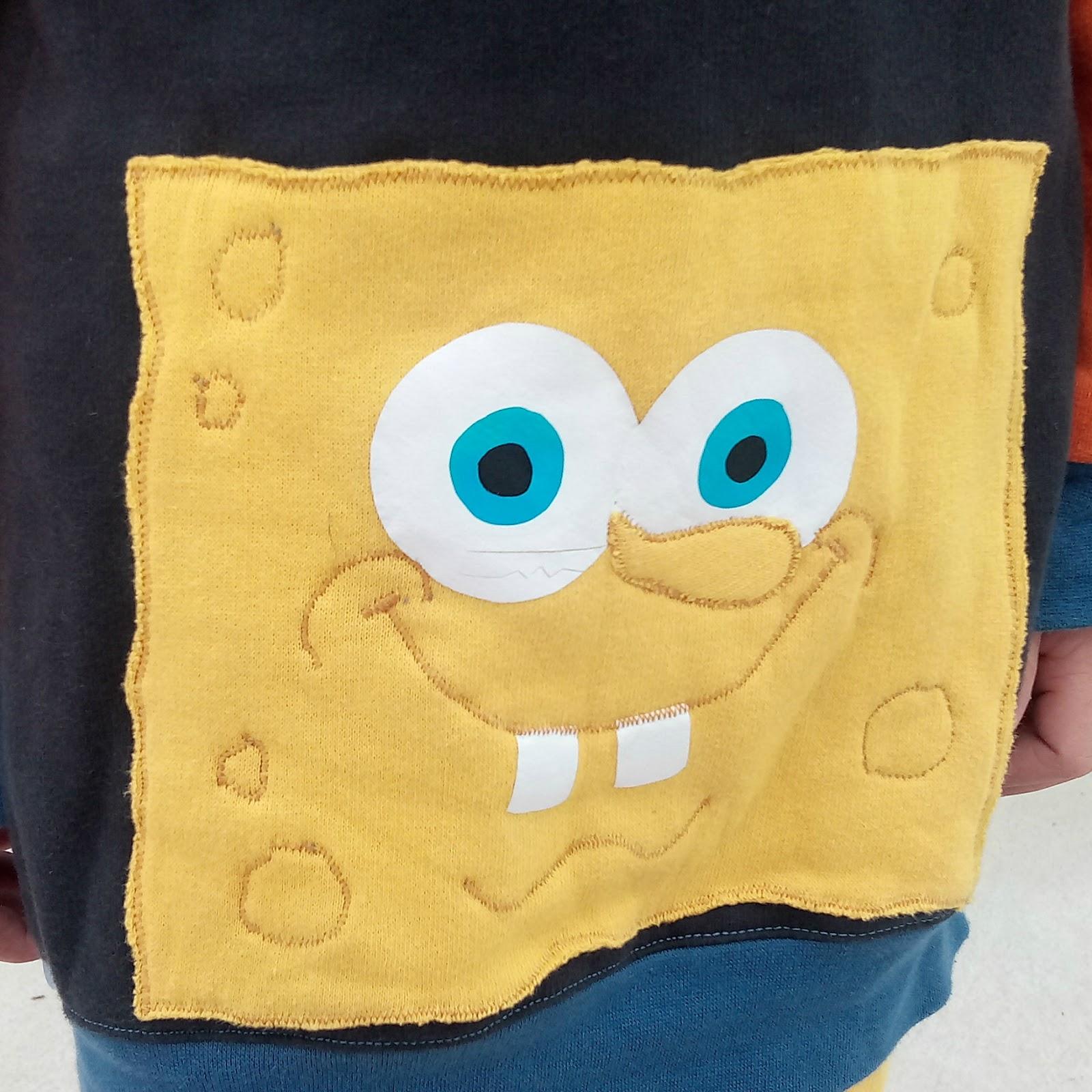 Sudadera bob esponja handmade