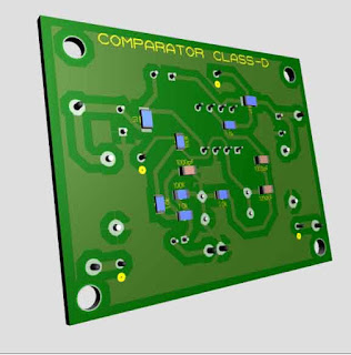 Comparator Circuit Class-D Amplifier