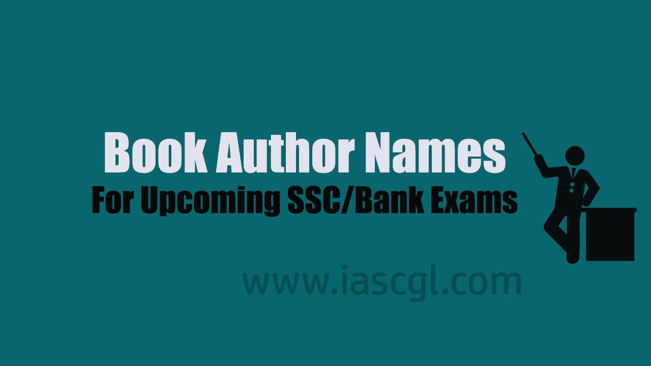 Book Author Names