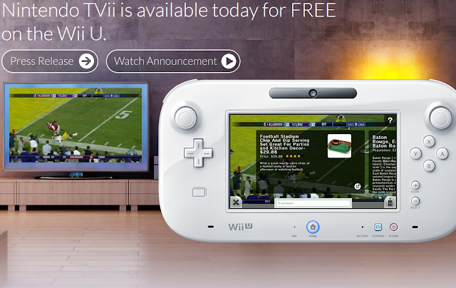i.TV Nintendo TVii partnership Wii U