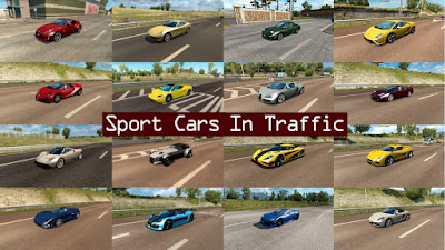 Sport Cars Traffic Pack by TrafficManiac v 1.6