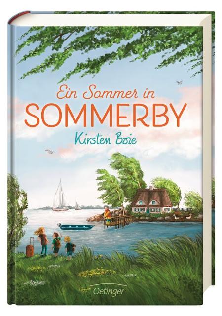 Heute ein Buch! Kinderbuchautorin Kirsten Boie im Interview: Warum das Lesen und das Leben schön sein sollten. Sommerby ist das neue Kinderbuch der Autorin!