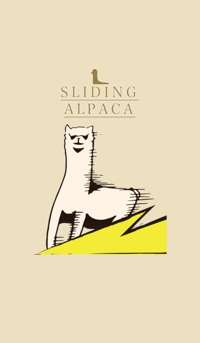 sliding alpaca