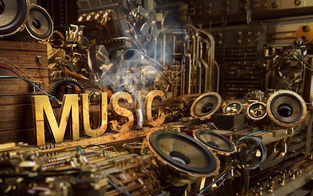 Walpaper Musik Joy Studio Design