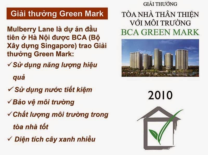 Giải thưởng Green Mark