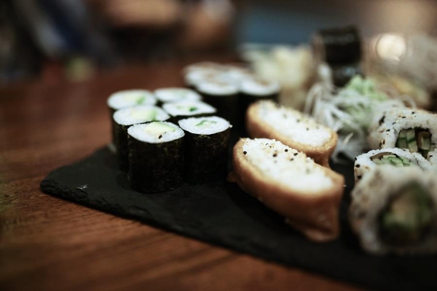 maki nigiri nori food sushi