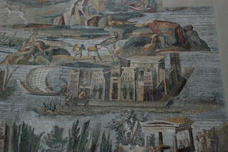 Detail from the Nile Mosaic in the Museo Archeologico Nazionale di Palestrina, near Rome