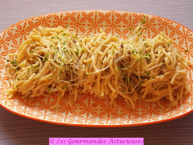 Comment accommoder un reste de Spaghettis ?