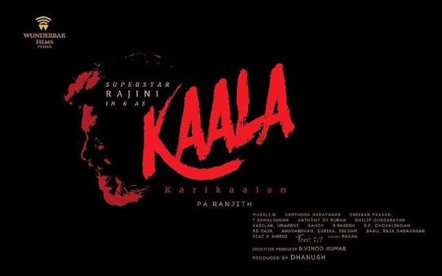 Rajinikanth's  Kaala First Look Revealed