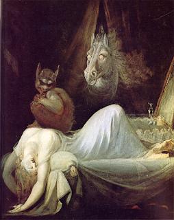 Parálisis de sueño - Incubo