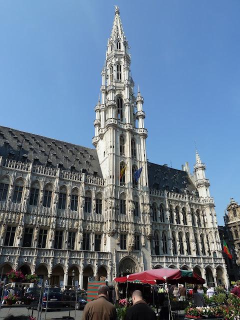 Câmara Municipal de Bruxelas - Grand Place - Bruxelas - Bélgica