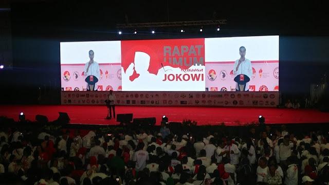 Hasil gambar untuk jokowi anjurkan ke pendukungnya untuk siap berkelahi