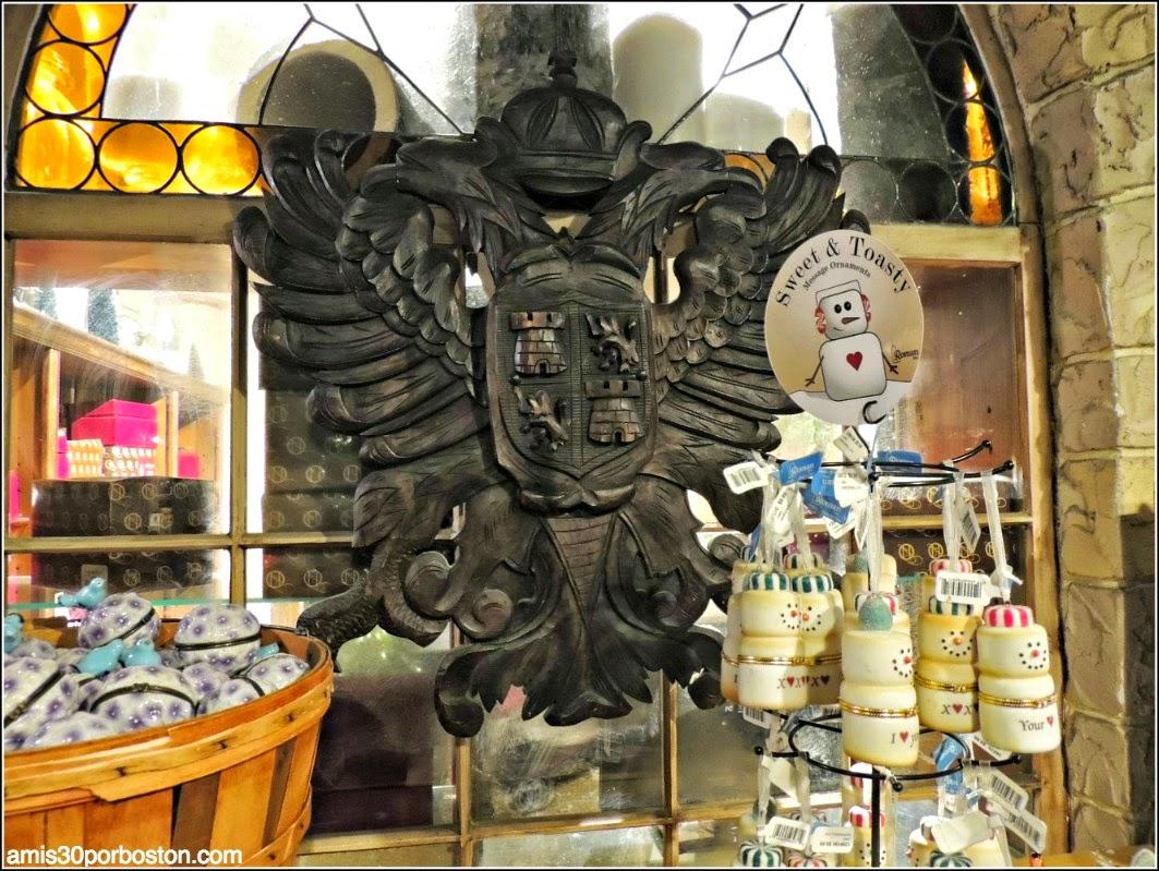 Yankee Candle Village: Bavarian Christmas Village con un Escudo ¿Castellano?