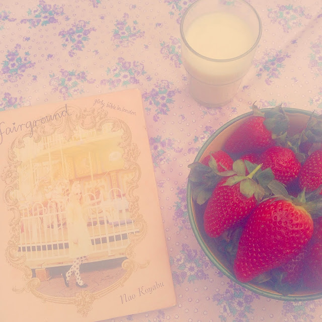 Fairground and Strawberries