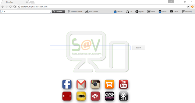 Search.funkytvtabssearch.com (Hijacker)