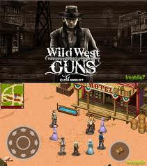 Wild West Guns 240x320 java game free download for Samsung