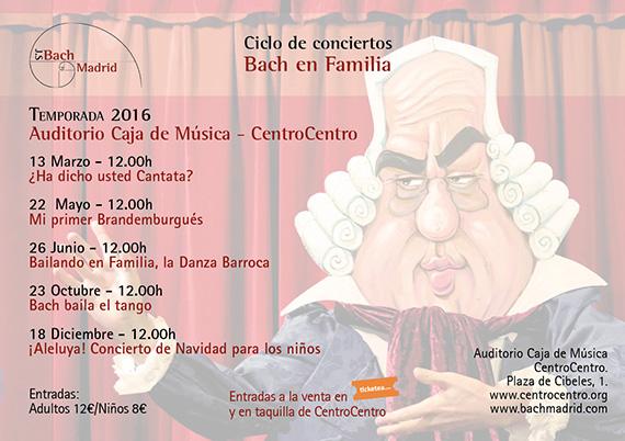 Bach en familia en CentroCentro Cibeles