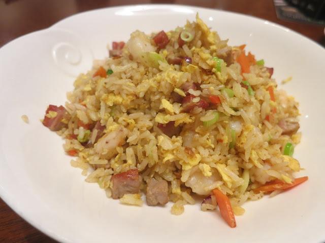 Yangzhou Fried Rice with X.O. Sauce