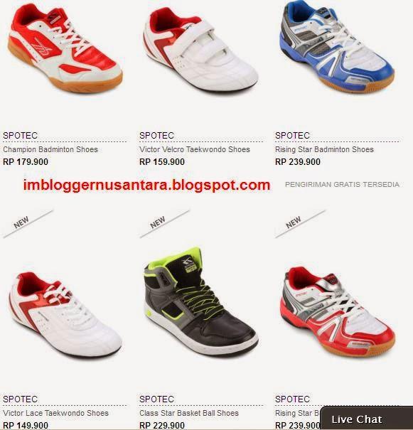 Daftar Harga Sepatu Badminton Murah Kualitas Terbaik - Terbaru 2019 53b7778772