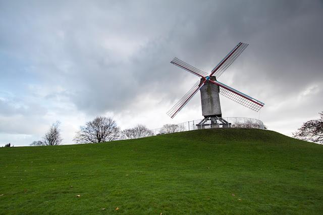Mulini a vento-Quartiere di Sant'Anna-Bruges