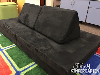 Flexible seating in the kindergarten classroom with the Nugget