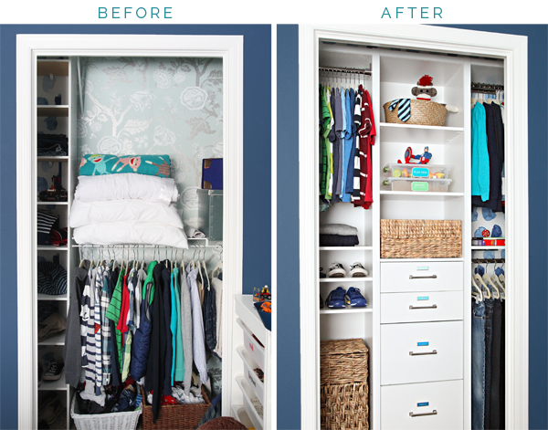 Now That You Have Seen How I Put This Closet To Work For Our Son, Letu0027s Get  Giddy About The Before And After And Go Gaga About All Of The Added Storage  And ...