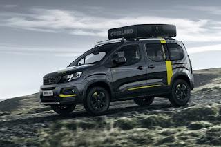 Peugeot Rifter 4x4 Concept (2018) Front Side 1