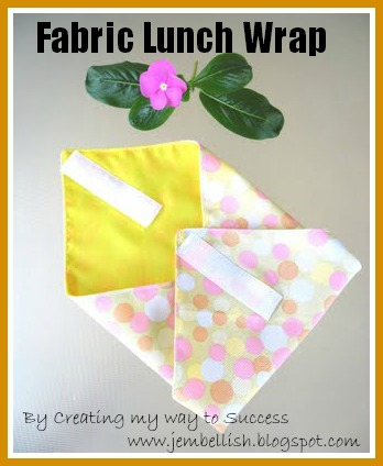 Fabric Lunch Wrap