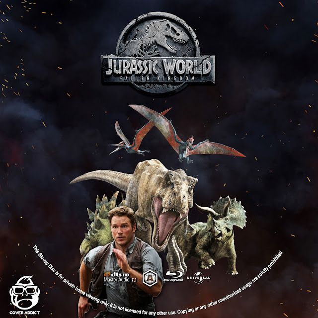Jurassic World: Fallen Kingdom Bluray