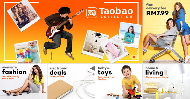 Lazada Malaysia Taobao Collection Flat Delivery Fee