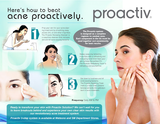HOW TO BEAT ACNE PROACTIVELY!