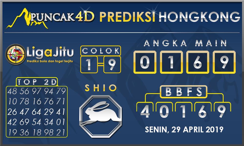 PREDIKSI TOGEL HONGKONG PUNCAK4D 29 APRIL 2019