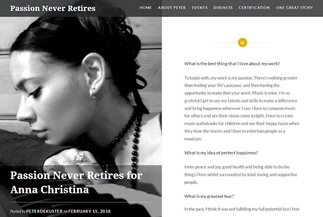 Anna-Christina - Passion Never Retires interview
