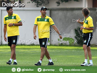 Ronald Arana, José Loayza y Alejandro Nordio, el nuevo cuerpo técnico de Oriente Petrolero - DaleOoo