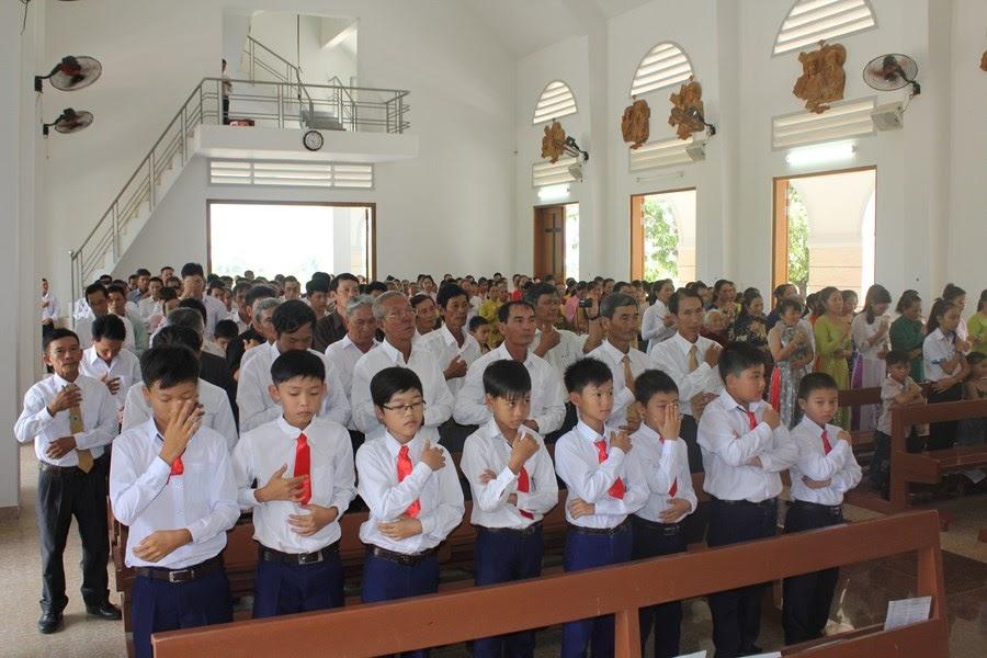 Lễ bổn mạng giáo xứ Đồng tre
