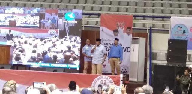 Djoko Santoso: Kalau Tidak Dicurangi, Prabowo-Sandi Menang 75 Persen