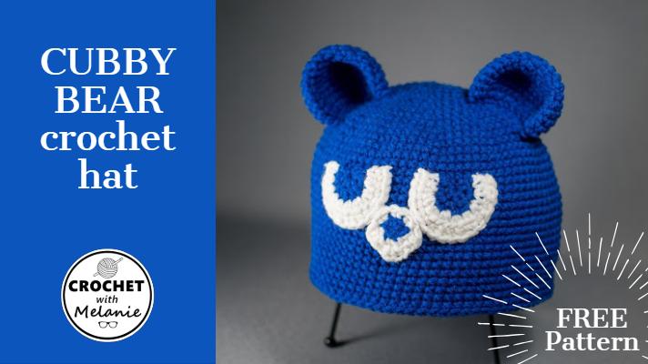 Cubby Bear Crochet Hat Free Pattern 010f6780b86
