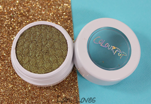 ColourPop Super Shock Shadow - Moonwalk Swatches & Review