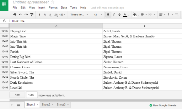 Google All Your: The New Google Sheets